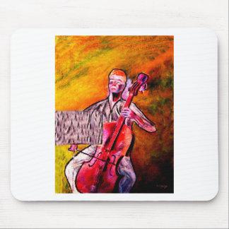 cello musician music orchestra design mouse pad