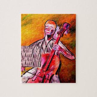 cello musician music orchestra design puzzle