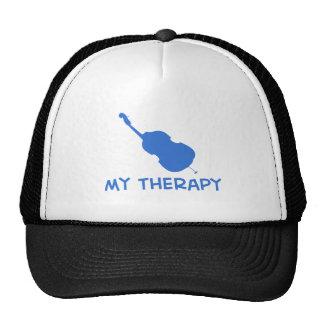 Cello my therapy designs trucker hat