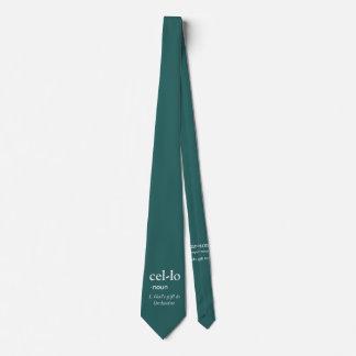 Cello Neck Tie