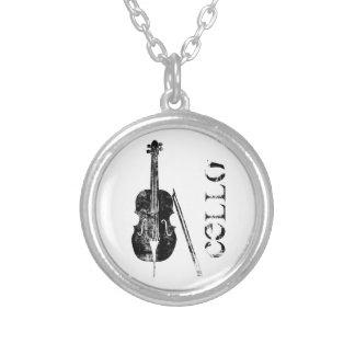 Cello Necklace