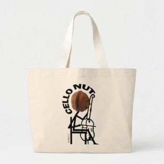 Cello Nut Jumbo Tote Bag