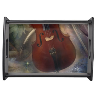 Cello, Oboe and Flute Serving Tray