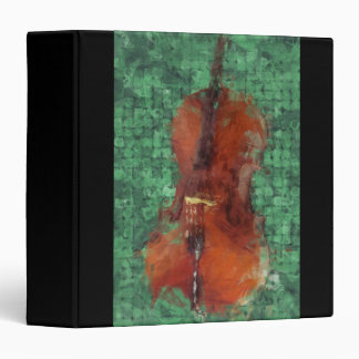 Cello On Green Binder