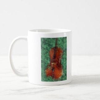 Cello On Green Coffee Mug