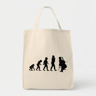 Cello Player Tote Bags