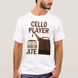 Cello Player (Funny) Chocolate T-Shirt