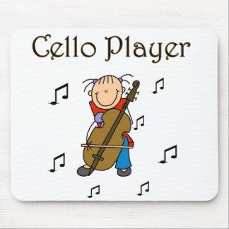 Cello Player Mousepad