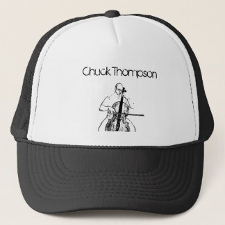 Cello playing possition, Chuck Thompson Trucker Hat