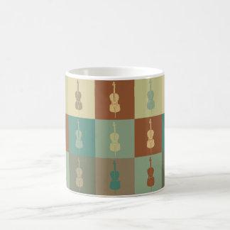 Cello Pop Art Coffee Mugs