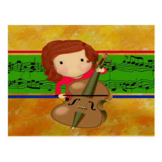 Cello Practice Post Cards