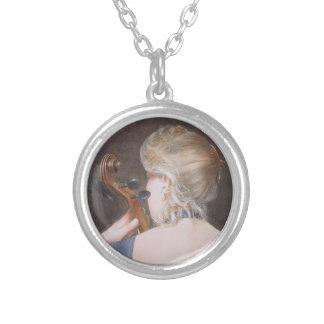 Cello Professor 2005 Silver Plated Necklace
