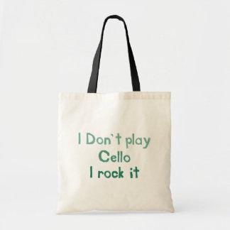 Cello Rock It Totebag Tote Bag