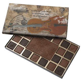 Cello Steampunk Suite All Occasion 45 Piece Box Of Chocolates