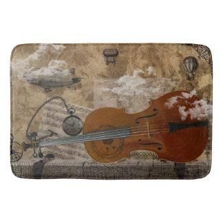 Cello Steampunk Suite Bathroom Mat