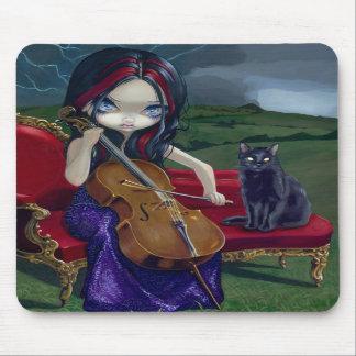 """Cello Storm"" Mousepad"