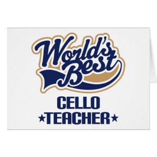 Cello Teacher Gift Card