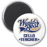 Cello Teacher Gift Refrigerator Magnets