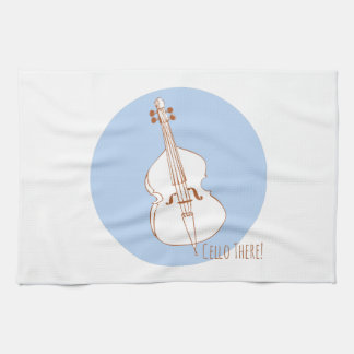 Cello There Towel