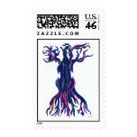 Cello Tree Blue Stamp