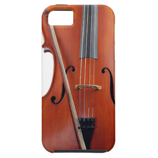 Cello with bow close up iPhone 5 cover