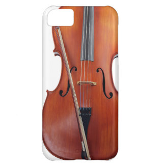 Cello with bow, close up iPhone 5C cover