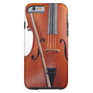 Cello with bow, close up iPhone 6 case