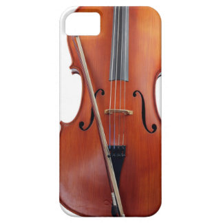 Cello with bow, close up iPhone SE/5/5s case