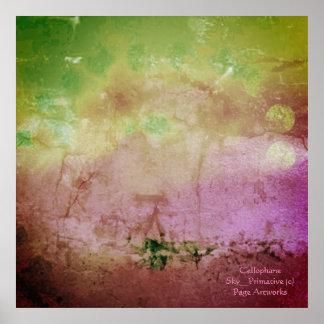Cellophane Sky_Primitive (c) _Abstract_ Poster