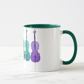Cellos and Color Mug