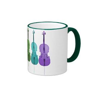 Cellos and Color Ringer Coffee Mug