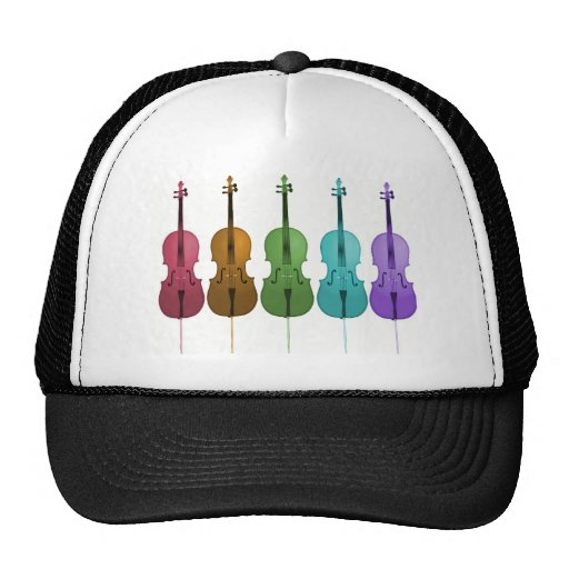 Rainbow Cellos Trucker Hat