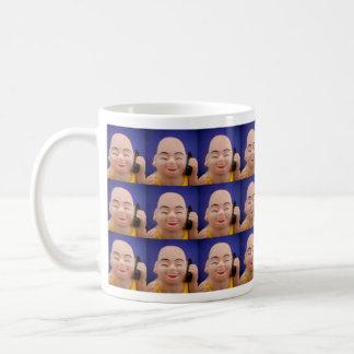 Cellphone Monk Tiled Mug