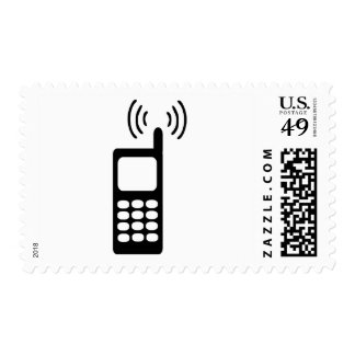 Cellphone Postage Stamp