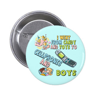 Cellphones and Boys T-shirts and Gifts For Her Button