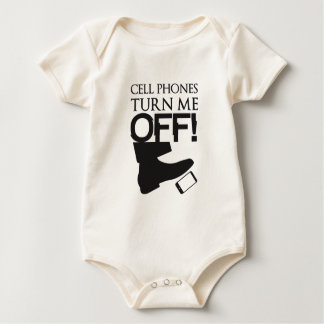 CellPhoneTurnmeArtwork.png Baby Bodysuit
