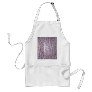 Cells of human uterus tissue with inoffensive tumo adult apron