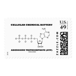 Cellular Chemical Battery Adenosine Triphosphate Postage