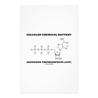 Cellular Chemical Battery Adenosine Triphosphate Stationery