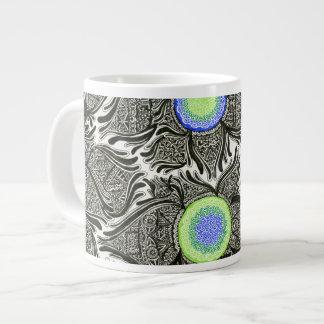 Cellular Design Large Coffee Mug