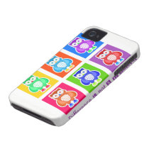 Cellular layer iPhone 4 Owls Case-Mate iPhone 4 Case