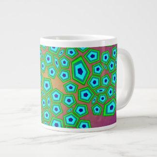 Cellular Natural Pattern Art Giant Coffee Mug