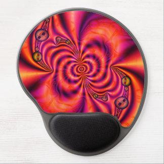 Cellular Spiral  Gel Mousepad