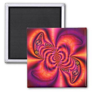 Cellular Spiral  Magnet