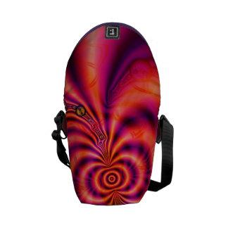 Cellular Spiral  Mini Messenger Bag