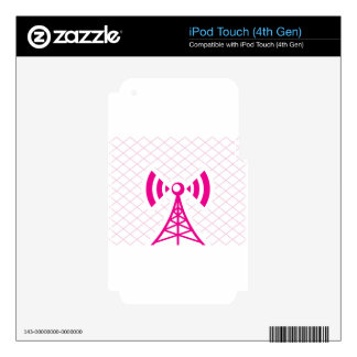 Cellular Tower iPod Touch 4G Decal