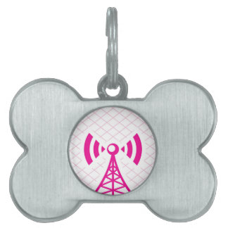 Cellular Tower Pet Tag