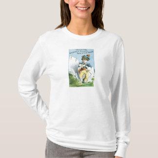 Celluloid Waterproof Collars T-Shirt