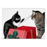 Celos del navidad tarjetas