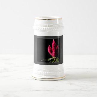 Celosia Caracas Cockscombs Pink Flowers Mug